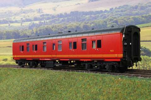 Heljan 7mm Finescale O Gauge 4956 BR Royal Mail Red Mk1 BG 'NCX'