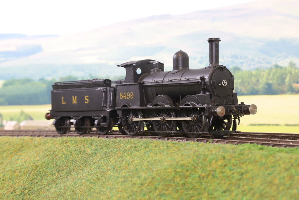 7mm Finescale O Gauge Kit Built LMS Black Ex-LNWR Cauliflower 0-6-0 '8499'