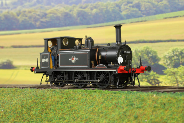 Dapol 7mm Finescale O Gauge 7S-010-011 BR Mixed Traffic A1X Terrier 0-6-0T '32636' DCC Sound!
