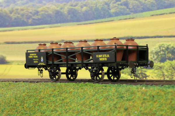 Nowitex O Gauge K.BAY.STS.B Chemical Vat Wagon '502070'