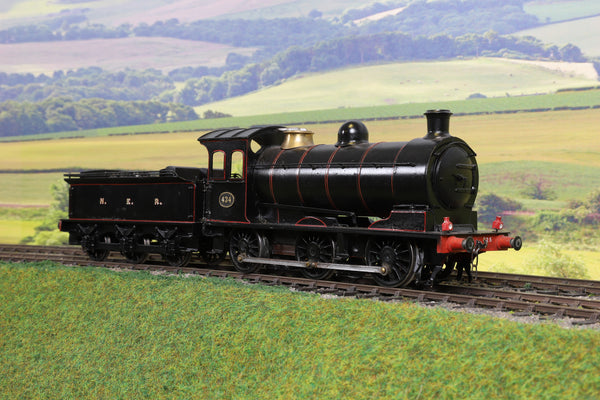 7mm Finescale O Gauge Scratch/Kit Built NER Lined Black J26 0-6-0 '434'