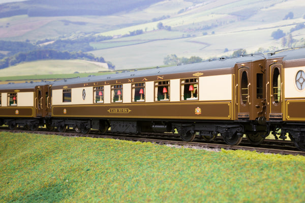 Golden Age Models 7mm Finescale O Gauge 'Queen of Scots' Rake of Eight Pullman Coaches