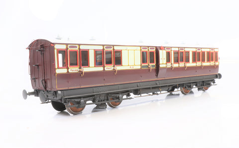 Decent Models Gauge 1 1:32 Rake of 3 45' Caledonian Railway Mk2 Coaches