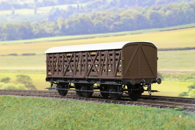 7mm Finescale O Gauge Kit Built GWR Six Wheeled Milk Siphon Wagon '1854'