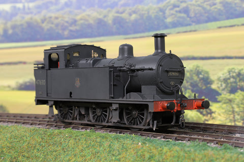 Sancheng/Tower Models 7mm Finescale O Gauge BR Black Jinty 0-6-0T '47630' Weathered!