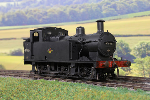 Sancheng 7mm Finescale O Gauge BR Black 3F Jinty 0-6-0T '47482' Weathered!