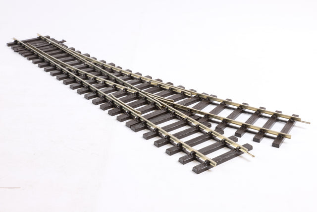 Peco 7mm Finescale O Gauge ST-U751 Setrack 2nd Radius Unifrog Turnout Left Hand