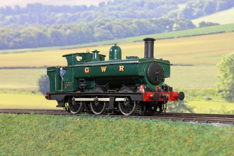 7mm Finescale O Gauge Kit Built GWR Green 1901 Class 0-6-0PT '1991'