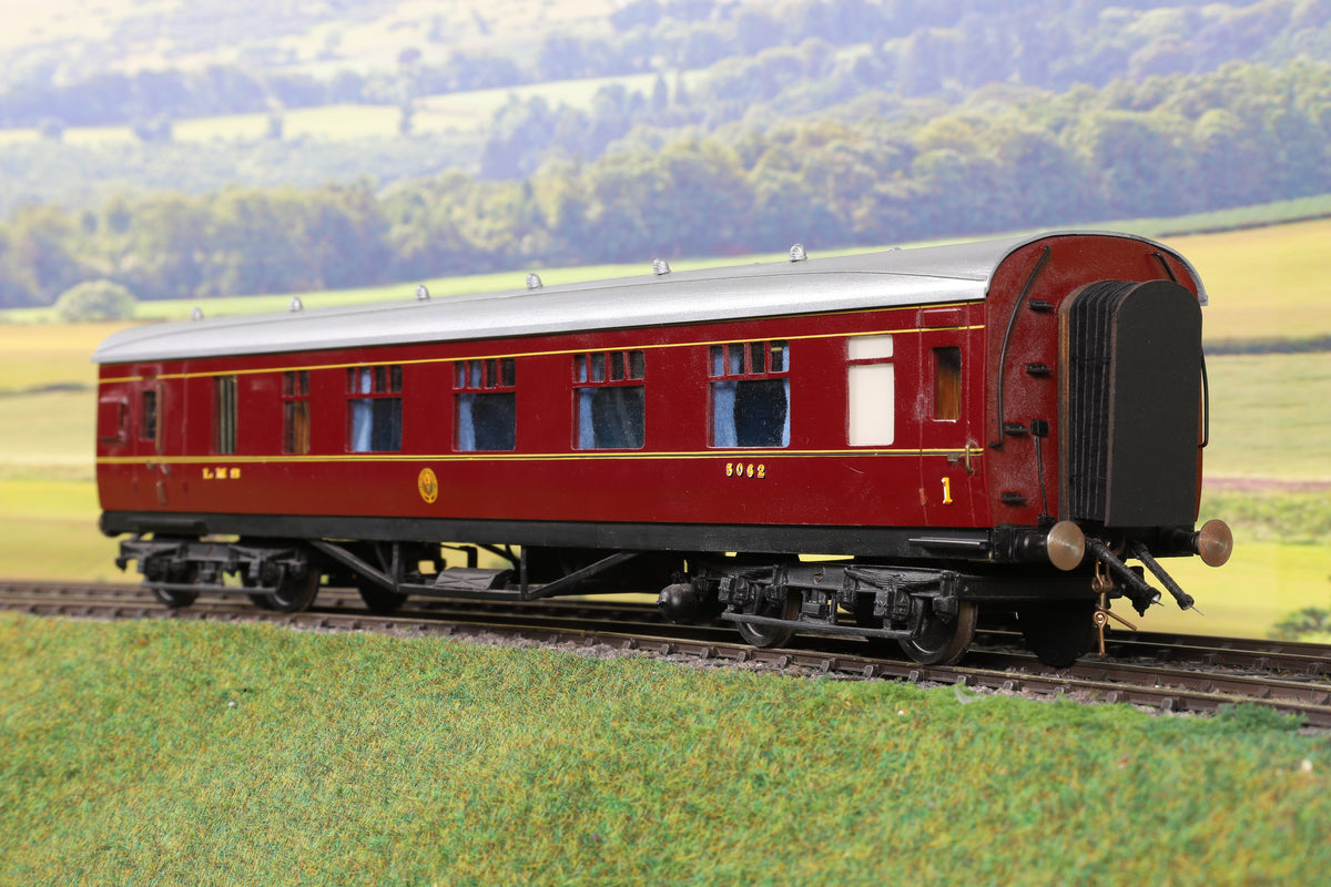7mm Finescale O Gauge Kit Built LMS Lined Maroon BFK '5062'