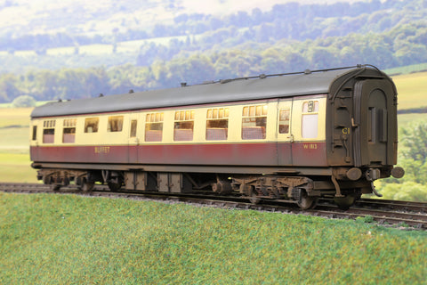 Darstaed 7mm Finescale O Gauge BR Mk1 Blood and Custard RMB 'W1813' Professionally Weathered and Numbered