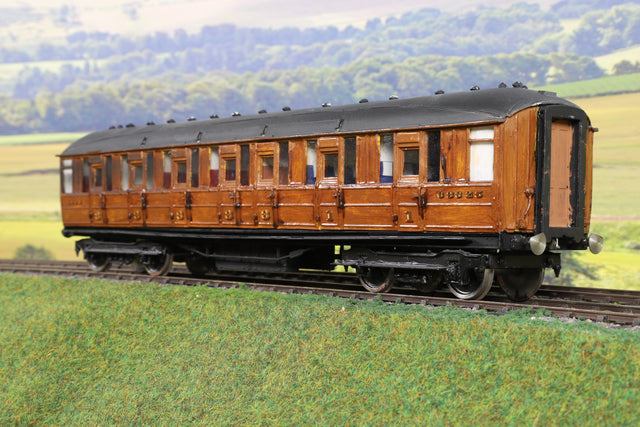 7mm Finescale O Gauge Kit Built LNER Teak CK '63825'