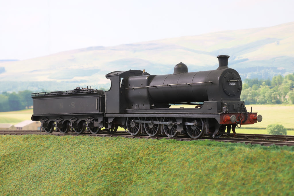 7mm Finescale O Gauge Scratch Built LMS Black 7F 0-8-0 Steam Locomotive