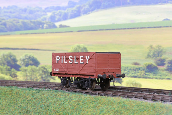 7mm Finescale O Gauge Kit Built High Sided Four Wheel Wagon '4521' 'Pilsley'