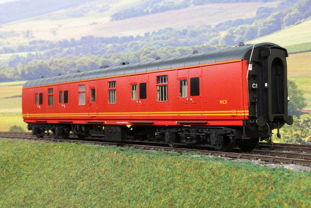 Heljan 7mm Finescale O Gauge 4856 BR Mk1 BG Royal Mail Red 'NCX'