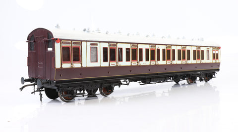 Gauge 1 Kit Built 3rd/1st Brake Caledonian Coach