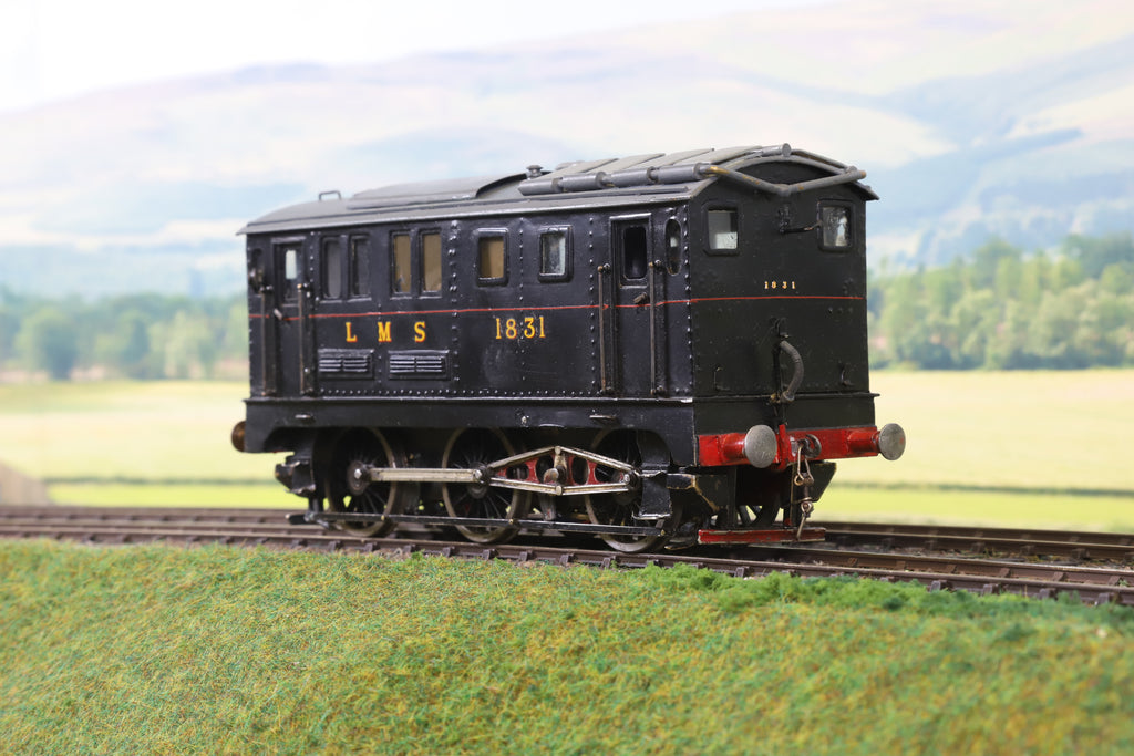 7mm Finescale O Gauge Scratch Built LMS Black Diesel Prototype '1831'