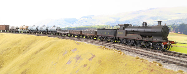 7mm Finescale O Gauge Kit Built LMS Lined Black 4-6-0 '25648' 'Queen of the Belgians' Weathered!