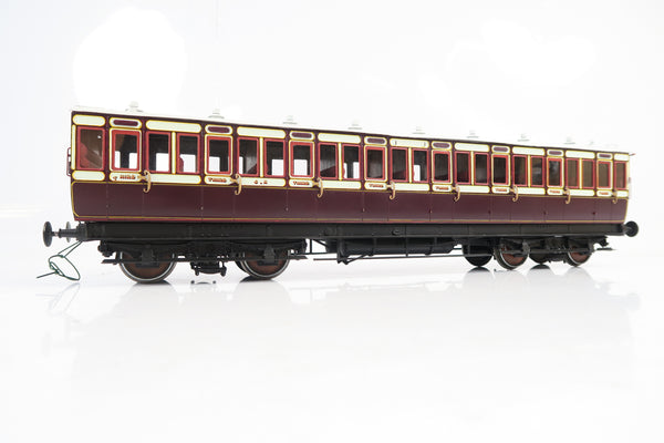 Gauge 1 Kit Built Rake of 6 Caledonian Coaches