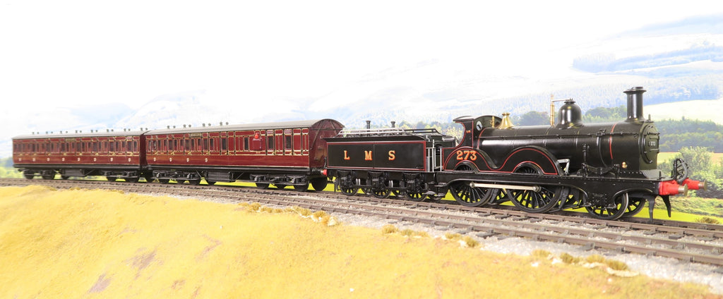 7mm Finescale O Gauge Kit Built LMS Lined Black 101/1492 Class 2-4-0 '273'