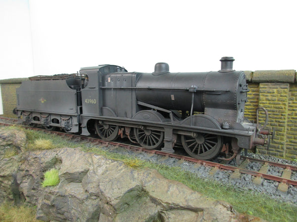Sancheng 7mm O Gauge BR Black 0-6-0 4F Locomotive '43960' DCC Sound & Weathered!