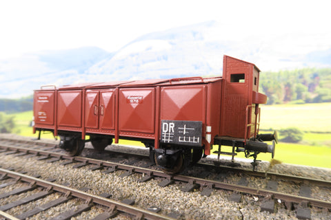 Pola Maxi O Gauge Deutsche Reichsbahn Four Wheel Closed Wagon '16715'