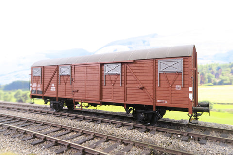 Gebauer (Or Similar) O Gauge Deutsche Bundesbahn Four Wheel Goods Wagon '201099'