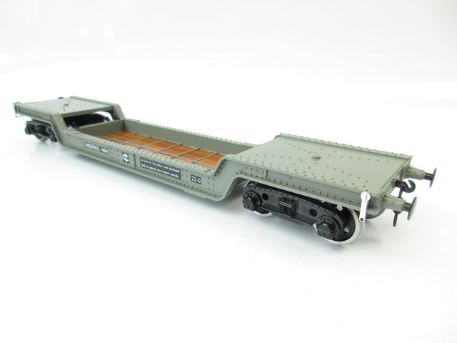 Darstaed D32-1 7mm Finescale O Gauge 45 Ton Bogie Well Wagon BR (W) Livery