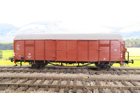 Gebauer (Or Similar) O Gauge Deutsche Bundesbahn Four Wheel Goods Wagon '190547'