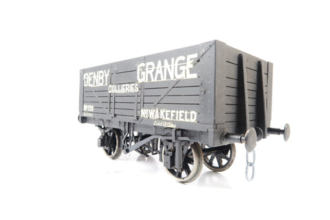 Kit Built Gauge 1 Denby Grange Colleries Open Wagon '136'