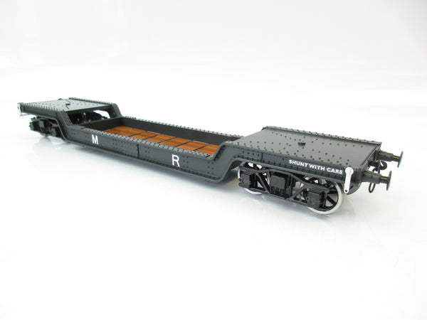Darstaed 7mm Finescale O Gauge 45 Ton Bogie Well Wagon MR Livery