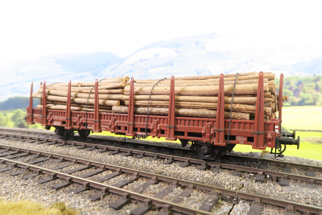 Darstaed by Marcel Darphin O Gauge DB KBS Stake Timber Wagon with Real Timber Load '3345022-4'