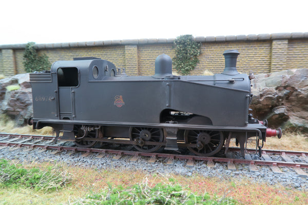 7mm Finescale O Gauge Kit Built BR J50 '68974' DCC Sound/Smoke & Weathered