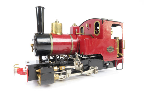 Roundhouse 16mm (45mm Gauge) G Scale Billy 0-4-0 Live Steam Loco with Radio Control!