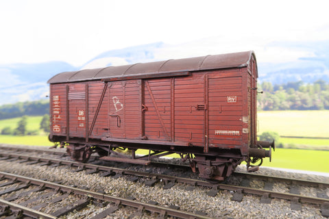Hehl O Gauge DB Four Wheel Wagon '151709' Weathered!