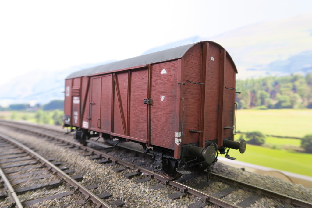 Horst Gebauer O Gauge DR Covered Wagon '16123' Weathered!