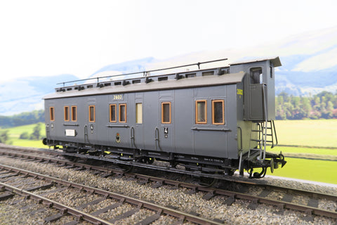 O Gauge Kit Built KPEV Six Wheel Fourth Class Clerestory Passenger Coach '2602'