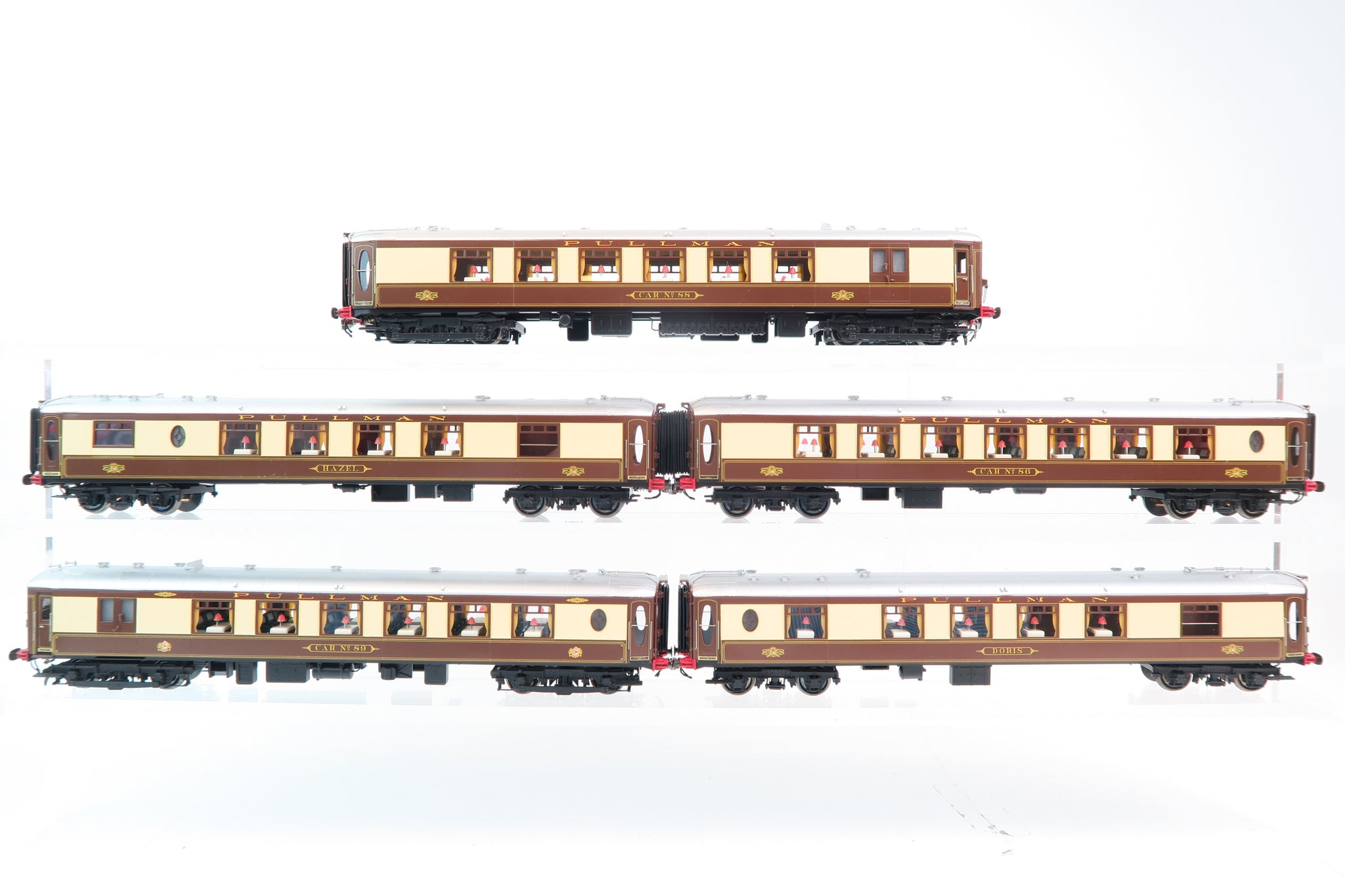 Golden Age Models OO Gauge #3501 5 Car 'Brighton Belle' Pullman Set DCC Fitted!