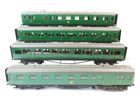 7mm Finescale O Gauge Kit/Scratch Built BR SR Green Four Car EMU 'Pompey' 'S11177S'