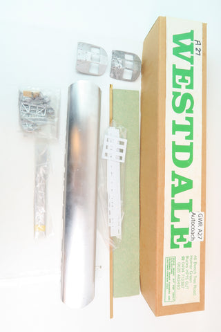Westdale 7mm Finescale O Gauge GWR A27 Autocoach Kit