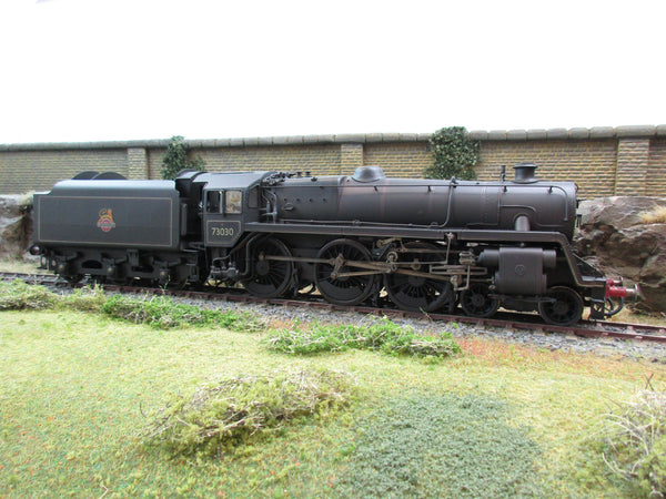 7mm Finescale O Gauge Professionally DJB Kit Built BR Lined Standard Class 5 4-6-0 '73030' Weathered!