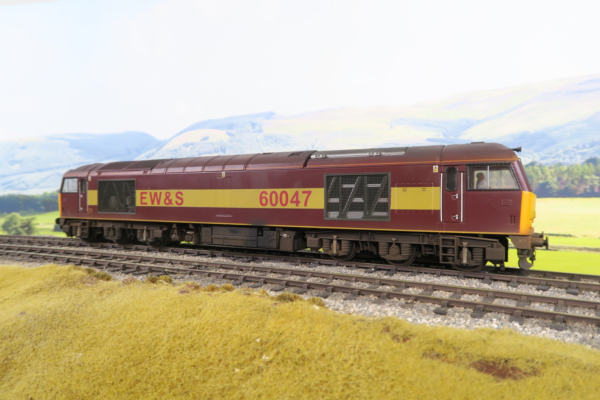 Heljan 7mm Finescale O Gauge EW&S Class 60 '60047' Weathered!