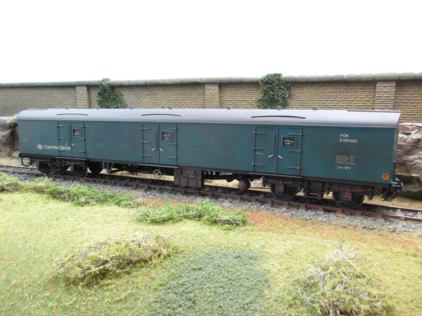 Willets Scale Models 7mm Finescale O Gauge Scratch Built Express Parcels GUV Coach