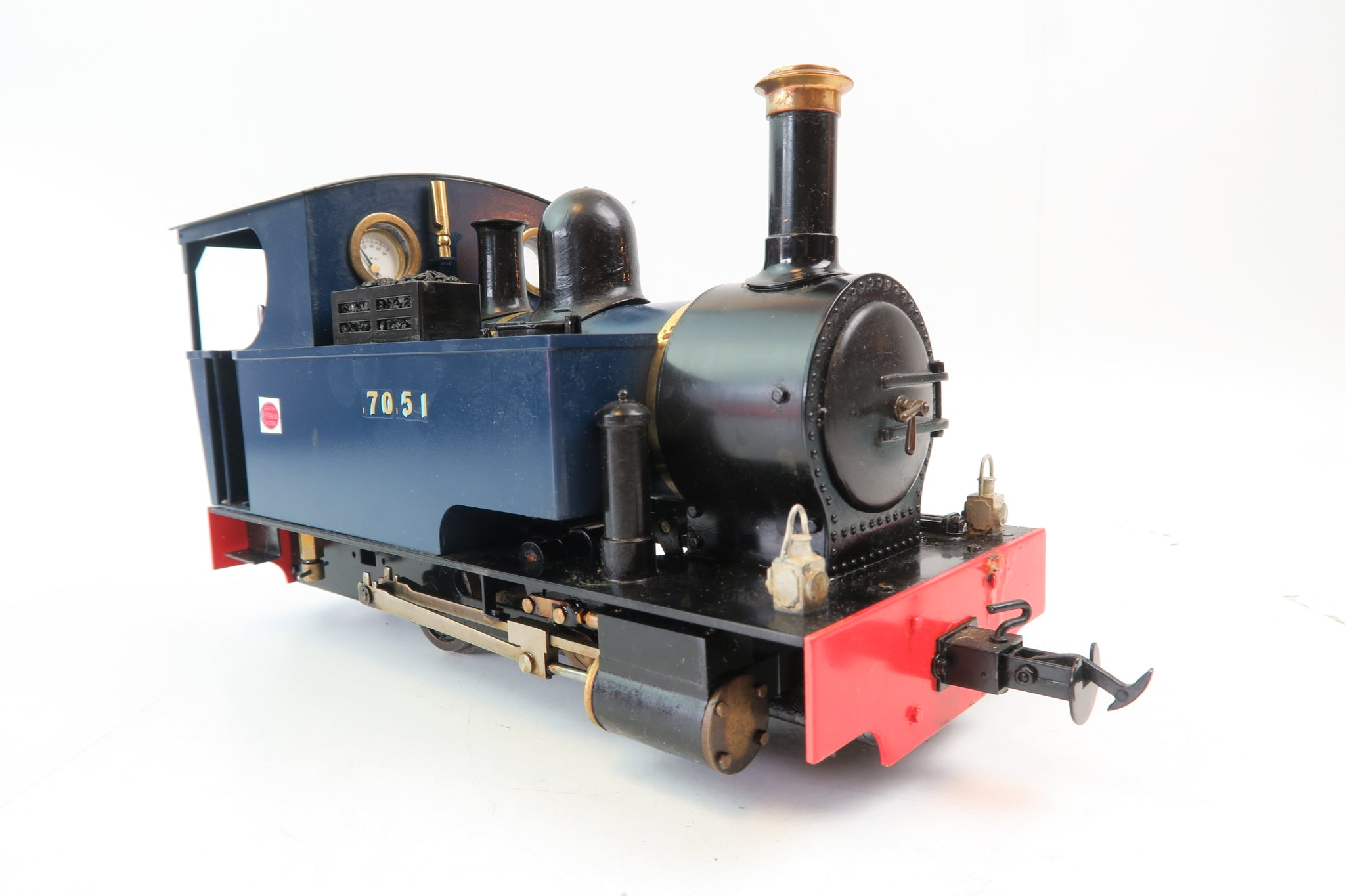 Accucraft 16mm Narrow Gauge Live Steam 0-4-0 'Ragleth' Steam Locomotive '7051'