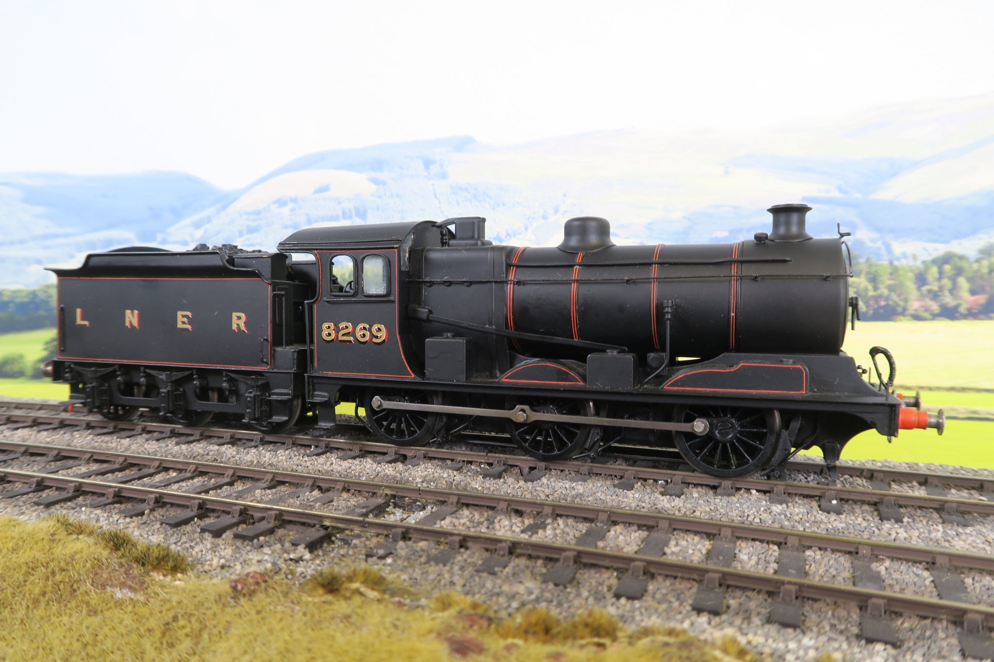 7mm Finescale O Gauge Kit Built LNER J19 Lined Black 0-6-0 '8269'