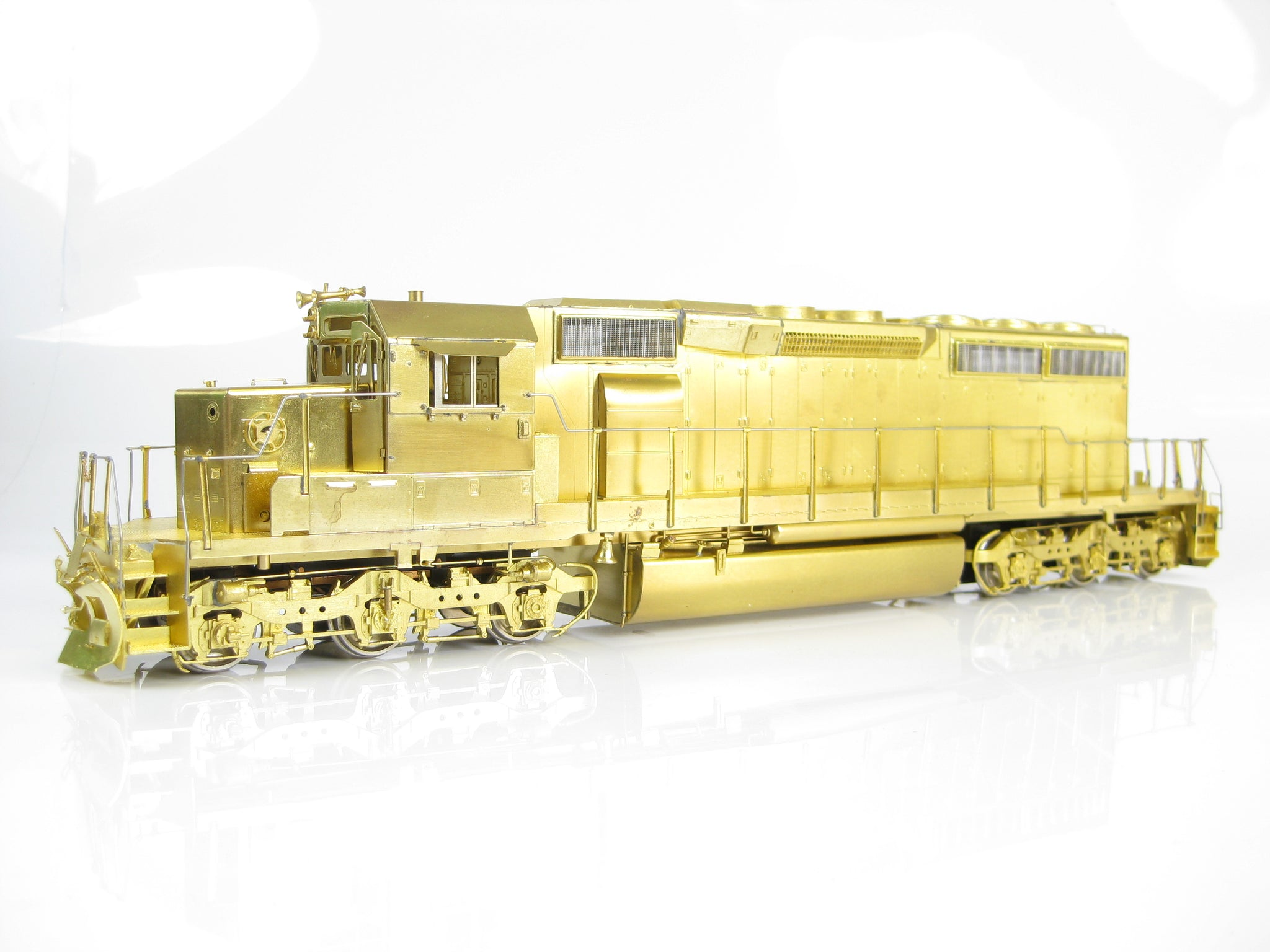 Overland Models O Gauge UP SD40-2 Plain Brass