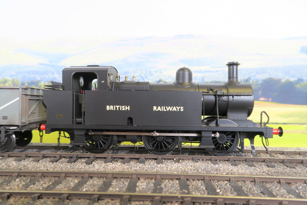 Dapol 7mm Finescale O Gauge 7S-026-005U BR Black 3F Class 0-6-0T Un-Numbered