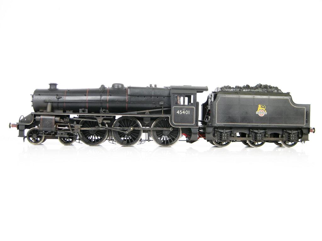 Sancheng/Finescale Brass Gauge 1 1:32 BR Lined 4-6-0 Black 5 '45401' Weathered with RC!