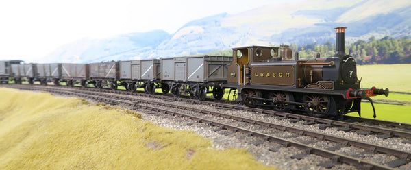 Dapol 7mm Finescale O Gauge 72-010-009 LB&SCR Brown A1 Terrier '643' DCC Fitted!