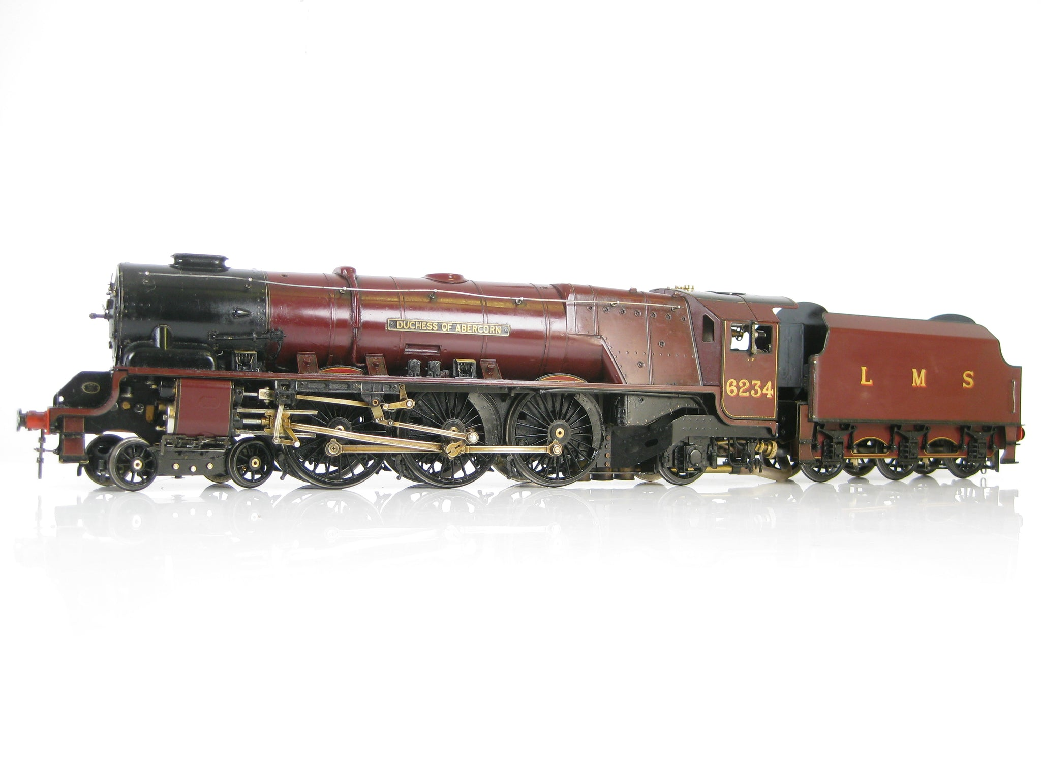 Aster Gauge 1 Live Steam 1:32 4-6-2 LMS Duchess of Abercorn '6234'