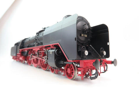 Wunder O Gauge Dampflok BR 01 150 EP. III With DCC Sound!